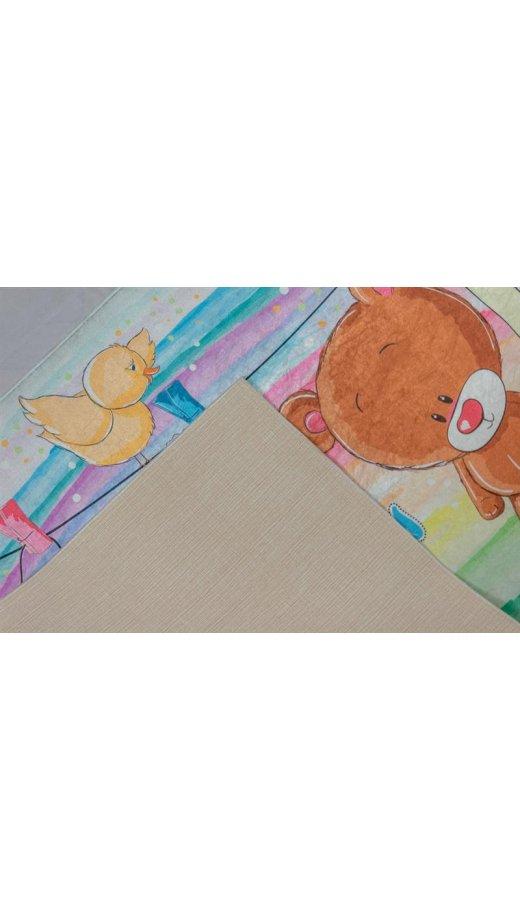 Kinderzimmer Teppich Waschbar Rutschfest Baby Bar 100x160